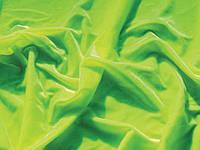 Ткани для танцев SMOOTH VELVET FLUO GREEN