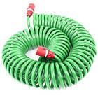 Шланг для полива спиральный 15 м с конекторами INTERTOOL GE-4002, фото 7