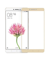 Защитное стекло для Xiaomi Redmi Note 3 / Redmi Note 2 Pro цветное Full Screen золото