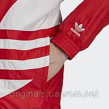 Ветровка мужская adidas Big Trefoil Windbreaker FM7076 , фото 3
