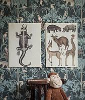 Казкові шпалери в дитячу кімнату Newbie від Borastapeter