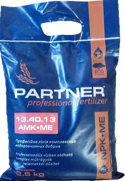 Комплексное удобрение Партнер (Partner Energy) 13.40.13 + АМК + ME, 2,5 кг