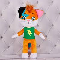 Мягкая игрушка Кот Лампо с мультфильма 44 кота, размер35см , Украина 00074