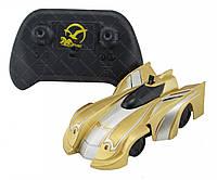 Радиоуправляемая игрушка Climber Wall Racer 1601C Антигравитационная машинка на р/у золотой