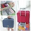 Дорожна сумка-органайзер із ручкою на валізу / Дорожная сумка органайзер для путешествий с ручкой на чемодан