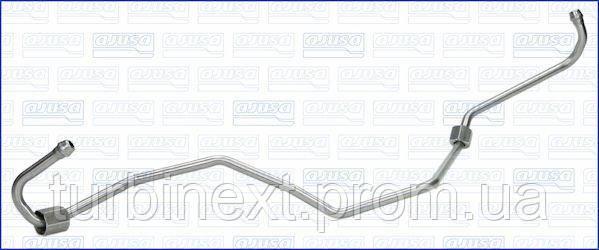 Трубка турбокомпресора ДВС VW GOLF, PASSAT, CADDY II 1.9 TDI BLS/BSU 04- (нержавіюча сталь) AJUSA OP10061