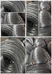 Проволока ф1,6мм термически необработанная (твердая) оцинкованная