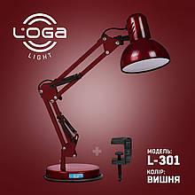 Лампа настільна Пантограф Loga Light L-301 Вишня