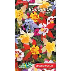 Водосбор, смесь многолетнее растение, семена цветы 0.1 г