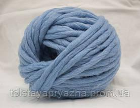 Толстая пряжа Кросс (голубой), фото 3