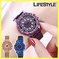 Жіночі годинники з обертовим циферблатом Chanel Flower Diamond Rotation Watch