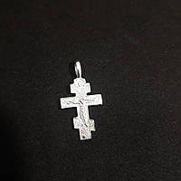 Крестик серебрений
