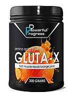 Глютамин Powerful Progress Gluta-X 300g.