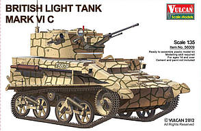 British Ligh Tank MK VI C. 1/35  VULCAN 56009