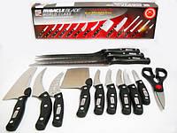 Набор кухонных ножей Miracle Blade 13 шт Черный
