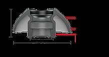 SpinFit CP350 M Амбушюры для TWS наушников, фото 3