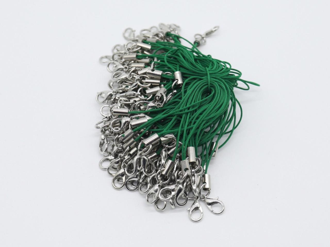 Шнурок для телефона. Зеленый. 76мм