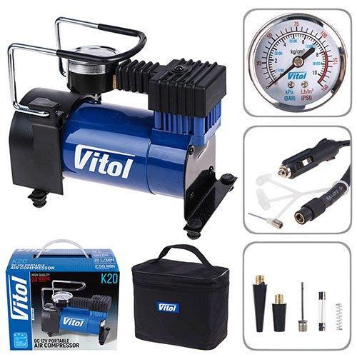 Автомобильный компрессор Vitol K-20