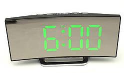 Часы настольные DT-6507 с зеленой подсветкой