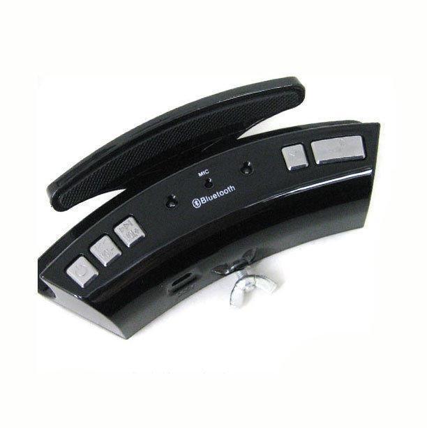 Гарнитура в авто громкая блютуз связь на руль Bluetooth ABX WS-128 HANDSFREE CAR KIT
