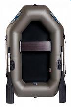 Надувная лодка Aqua-Storm st190 с уключинамии