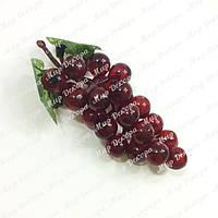 Ветка винограда,красная, 13 см