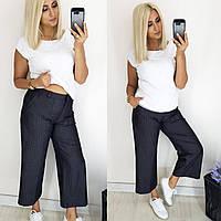 Женские брюки кюлоты 1040- 48,50,52