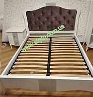 Двуспальная кровать София из массива ясеня