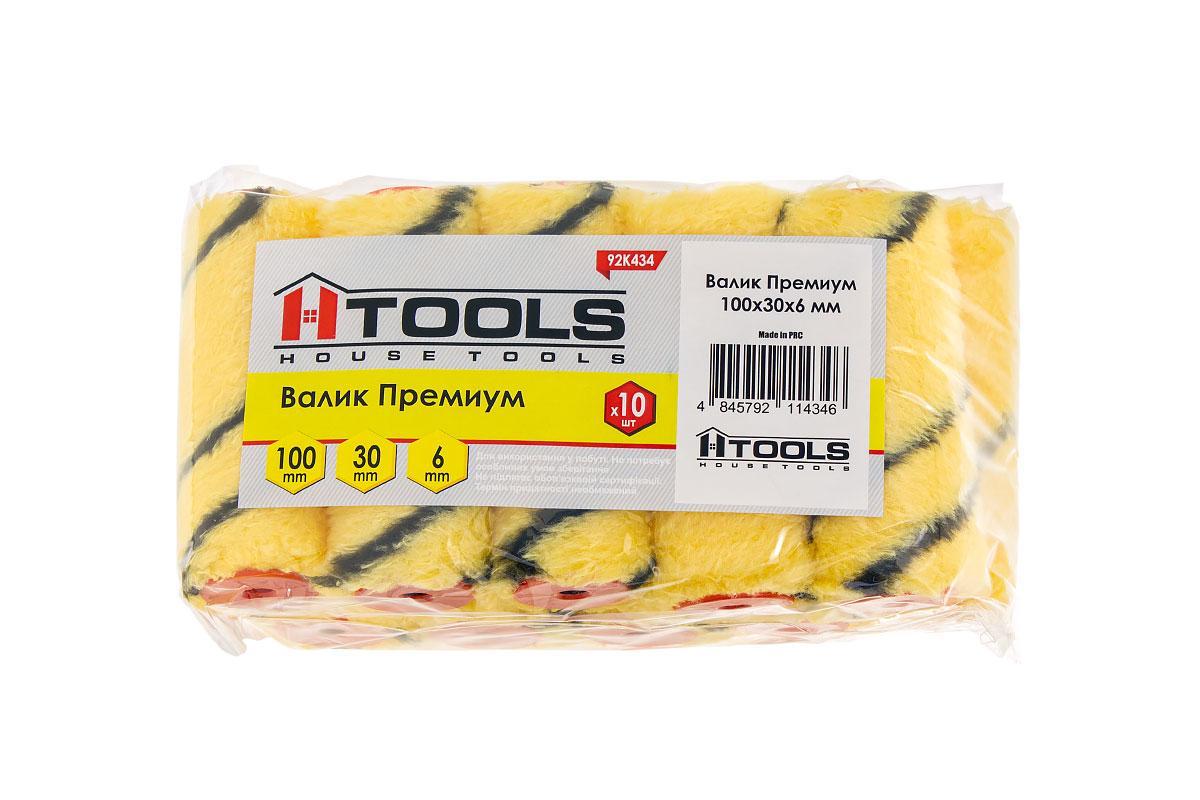 Валик Премиум 100*30*6 мм. HTools, 92K434