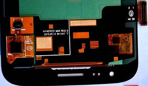 Модуль (дисплей + сенсор) для с Samsung J210 Gold OLED, фото 2