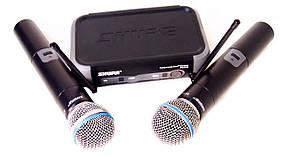 Радиосистема ABX SH PGX242, база и 2 радиомикрофона