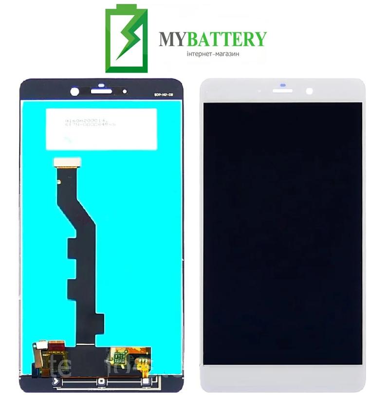 Дисплей (LCD) Xiaomi Mi Note с сенсором белый