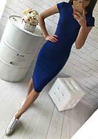 Демисезонное платье с коротким рукавом, фото 1