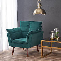 Кресло  REZZO темно-зеленый (Halmar), фото 1