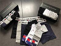 Мужские трусы (5 шт.) + носки (9 пар) = 430грн.(в подарочных коробках.