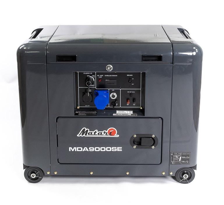 Однофазный дизельный генератор Matari MDA9000SE (7 кВт)