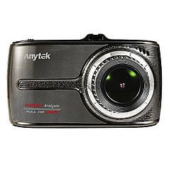 """Видеорегистратор Car DVR Anytek G66 экран 3.5 """" IPS G-Sensor 170 град матрица Sony IMX323 запись звука"""