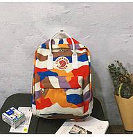 Рюкзак стильний міський Fjällräven Kanken Classic Art