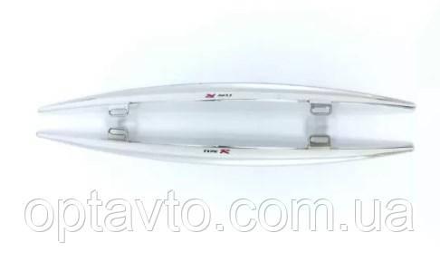 Ветровики - спойлеры хромированные TUPE-R декоративные на стеклоочистители