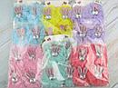 Детские заколки для волос Бантики с ушками в стразах 12 пар/уп, фото 5