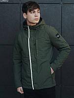 Весенняя мужская куртка с утеплителем Холософт Staff haki magnet GZR0032