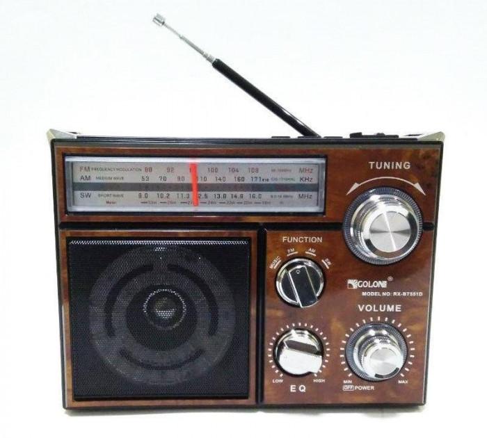 Радиоприемник  RX 553D радиоколонка MP3 переносная