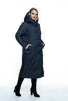 Женское, модное, весеннее пальто - плащ больших размеров, демисезонное р- 46, 48, 50, 52, 54, 56 Новинка