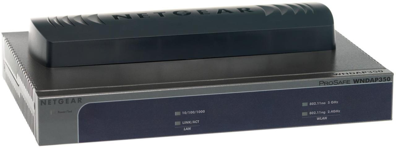 Двухдиапазонная беспроводная точка доступа Netgear WNDAP350 Wireless-N ProSafe