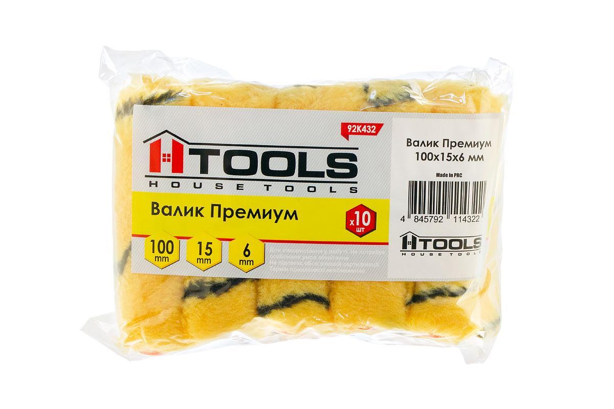 Валик Премиум 100*15*6 мм. HTools, 92K432