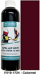 "Краска для кожи автомобиля 250 мл.""Dr.Leather"" Touch Up Pigment Cabernet"