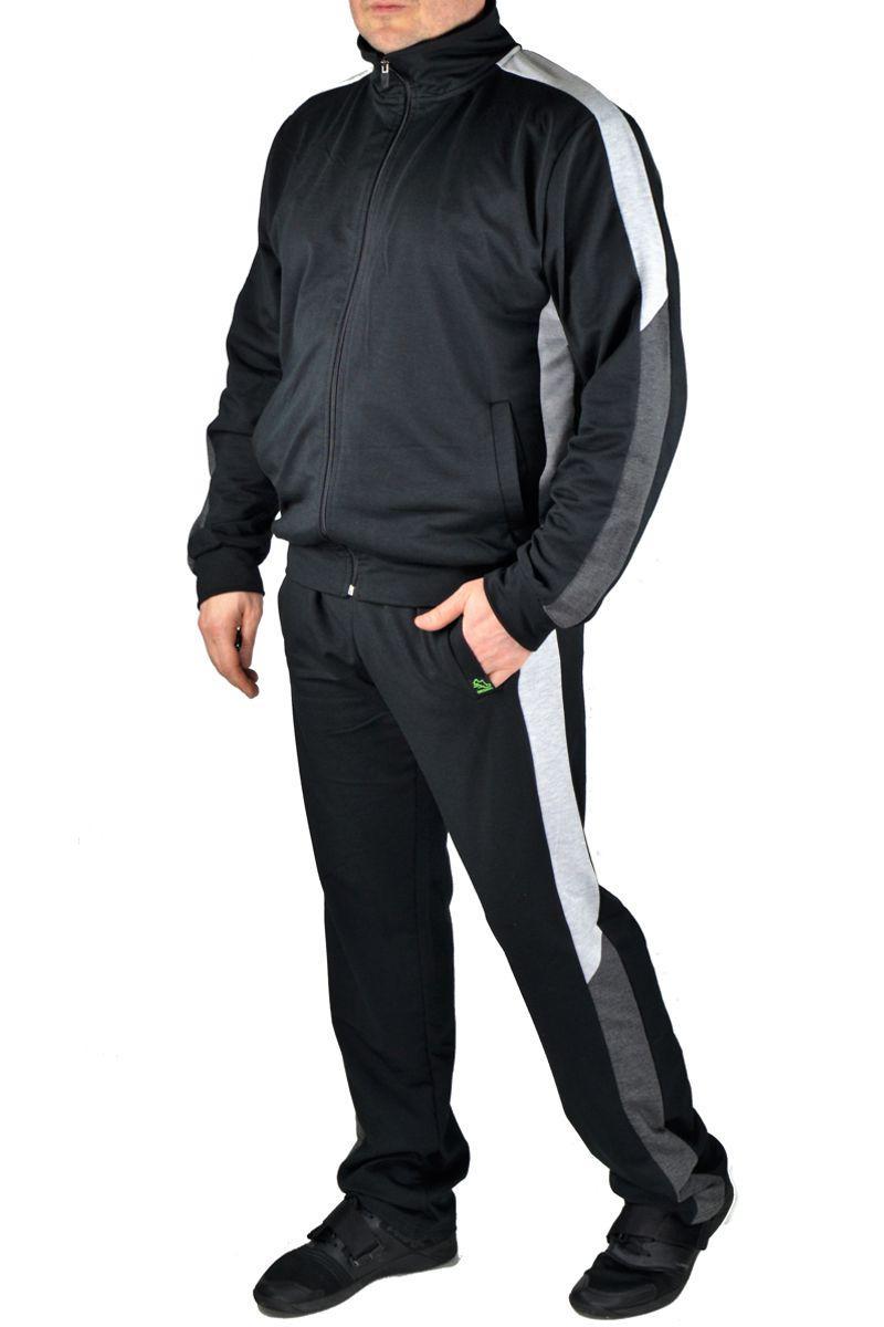 Мужской спортивный костюм 036 черный