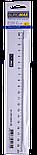 Лінійка пластикова 20см прозора, фото 2