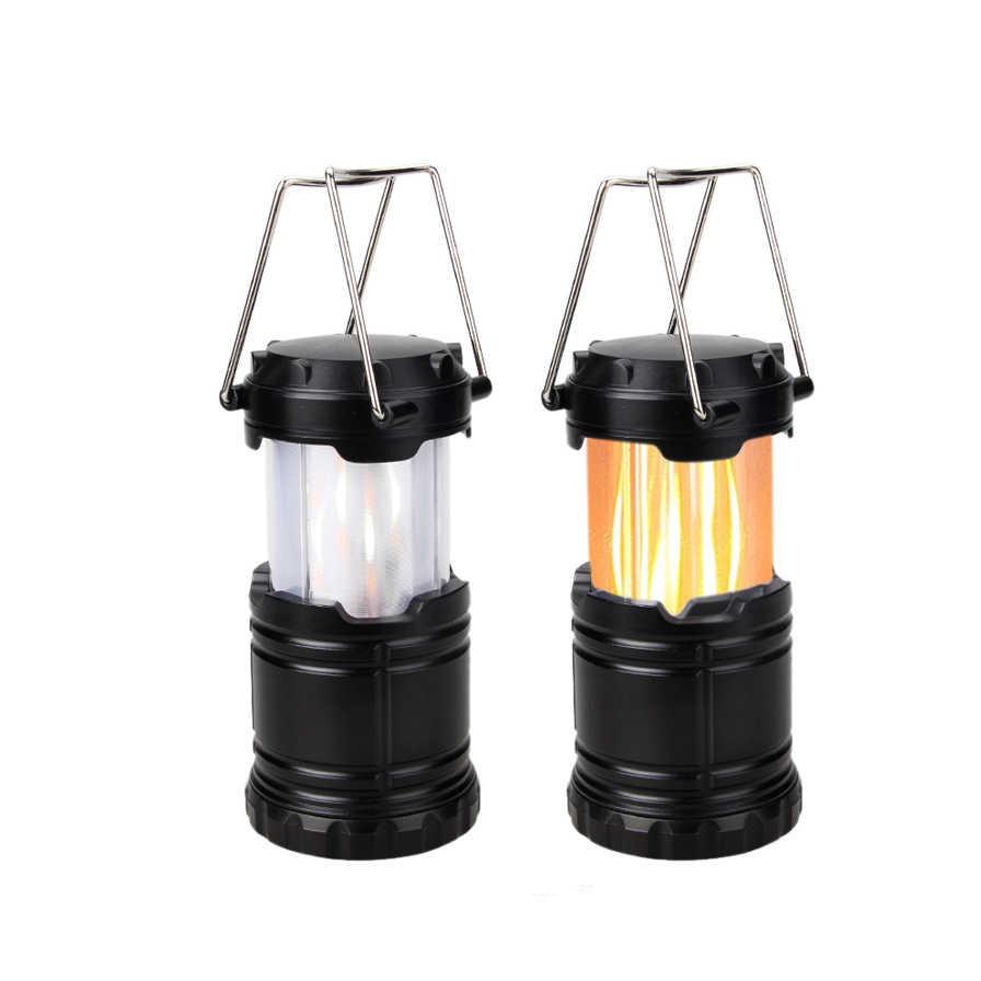 Кемпинговый фонарь XF-5800T с эффектом пламени