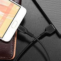 Кабель HOCO micro USB - 1 метр, 2.4А - качество!!!, фото 1